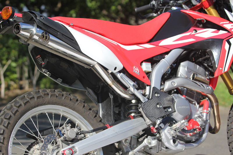 17~CRF250L (2BK-MD44) POWERBOX サイレンサー