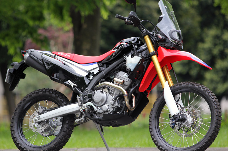 2017〜CRF250RALLY (2BK-MD44)POWERBOXパイプ