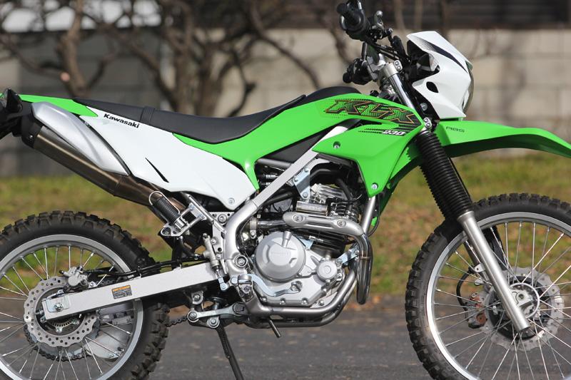 Kawasaki KLX230 (2BK-LX230A) POWERBOX パイプ