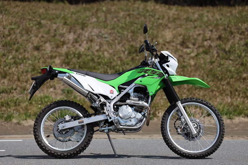 Kawasaki KLX230 (2BK-LX230A) POWERBOX サイレンサー