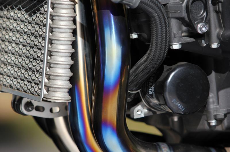 """MT-10SP ABS /MT-10 ABS (2BL-RN50J)POWERBOXパイプ""""S""""TitanBlue"""
