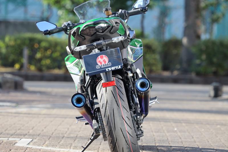Kawasaki Ninja1000SX (2BL-ZXT02K) POWERBOX TWOTAIL TitanBlue