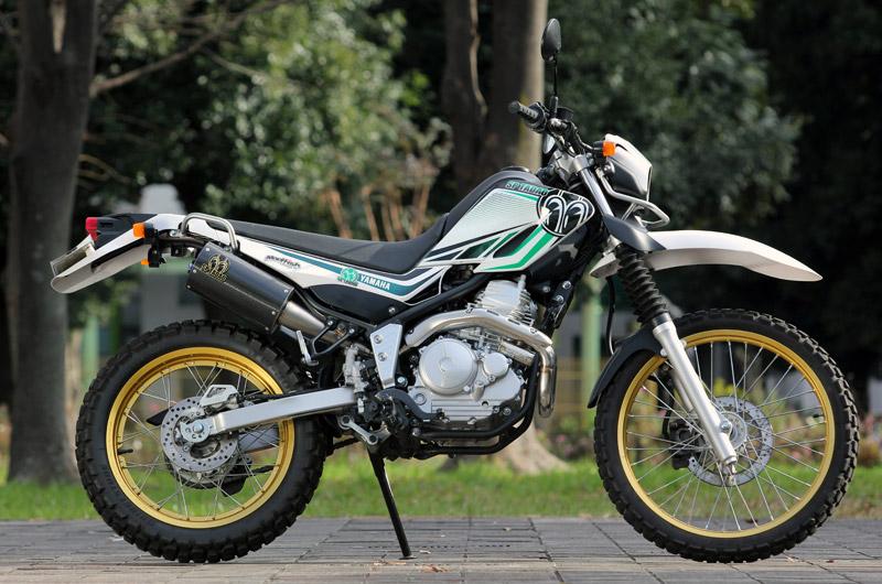 YAMAHA / SEROW250(JBK-DG17J)POWERBOX Titan&Carbon