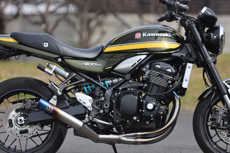 Kawasaki Z900RS (2BL-Z900C)POWERBOX FULL 4in1 TitanBlue