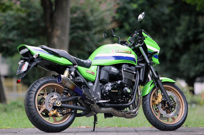 Kawasaki ZRX1200 DAEG POWERBOX TitanBlue