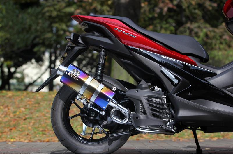 【SP忠男】YAMAHA / NVX125(SED3ベトナム仕様)PURE SPORT SilentVersion TitanBlue