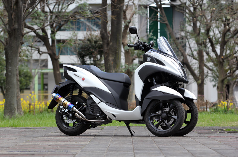 2018~トリシティ125(2BJ-SEC1J)POWERBOX FULL S TitanBlue