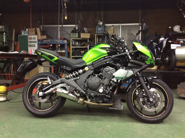 2014年~ NINJA400 POWER BOX