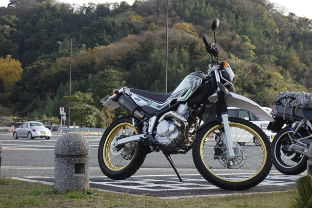SEROW250 POWER BOX カーボン