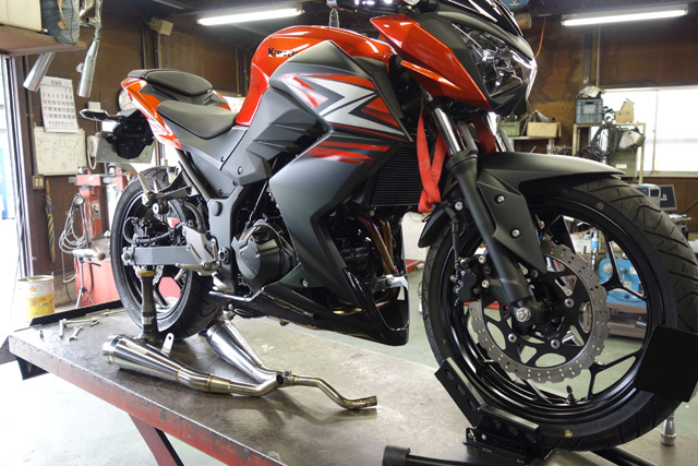 '13〜 Z250 / PURE SPORT - TWO TAIL - HP